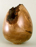 birch burr hollow form
